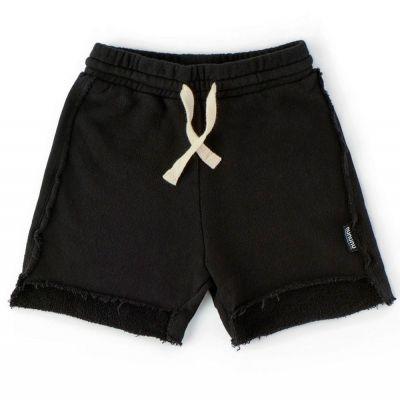 Asymmetric Length Shorts Black by nununu-2/3Y