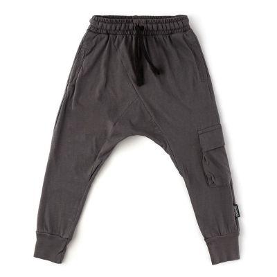 Light Cargo Trousers Iron by nununu-2/3Y