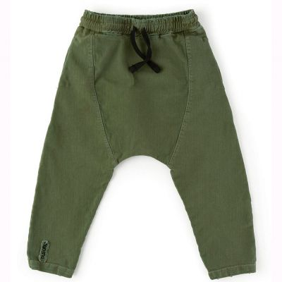 Baby Harem Pants Military Olive by nununu-18M