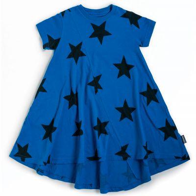 360 Star Dress Blue by nununu