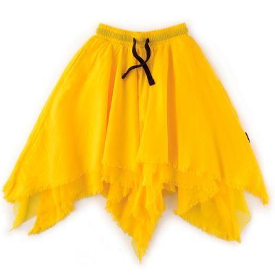 Layered Skirt Lava Yellow by nununu