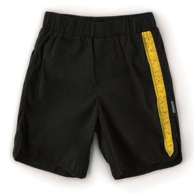 Swim Shorts with Measuring Band Detail by nununu