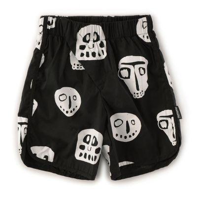 Unisex Surf Shorts with Rowdy Masks Print by nununu