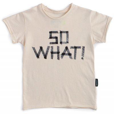 T-Shirt So What! Natural by nununu