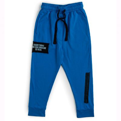Imagination Sweatpants Blue by nununu