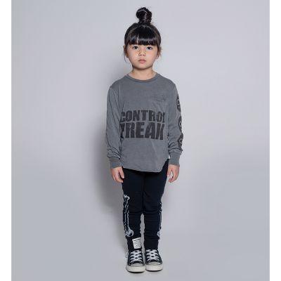 Control Freak T-Shirt Vintage Grey by nununu