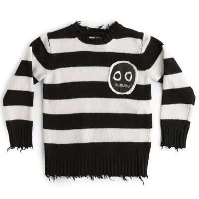 Smile Knit Striped by nununu-3/4Y