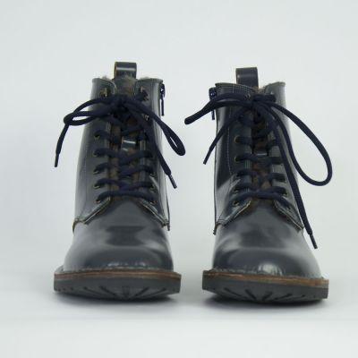 Fur Boots Dehli Blue by Pepe Children Shoes-24EU