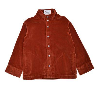 Velvet Stand Collar Shirt by East End Highlanders