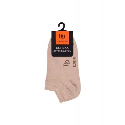 Short Ankle Socks Eureka Beige by Dore Dore