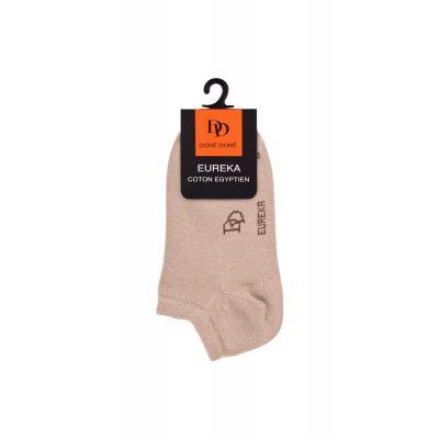 Short Ankle Socks Eureka Beige by Dore Dore-27EU
