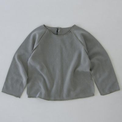 Soft Baby Sweatshirt Kinya Grey by Album di Famiglia