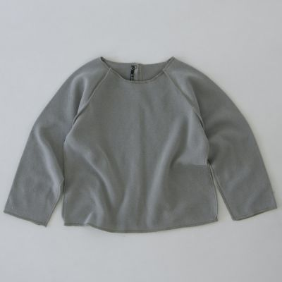 Soft Baby Sweatshirt Kinya Grey by Album di Famiglia-3M