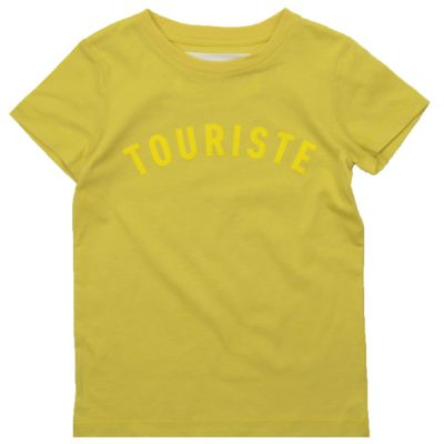 T-Shirt Gatto Yellow by Touriste