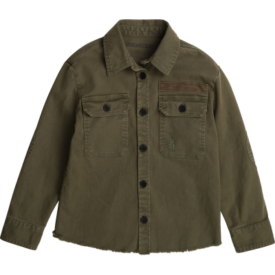 Shirt Bonnie Khaki by Zadig & Voltaire