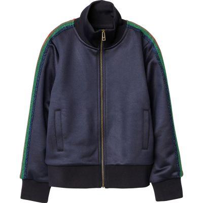 Zip Jacket Salie Glitter Stripes by Zadig & Voltaire