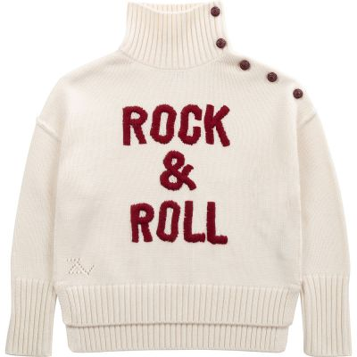 Woolen Sweater Beth Ivory by Zadig & Voltaire-6Y