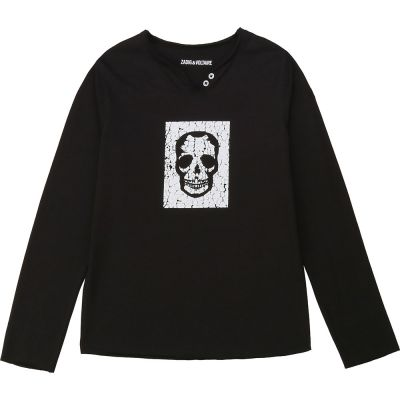 Longsleeve Shirt Boxer Skull Print by Zadig & Voltaire
