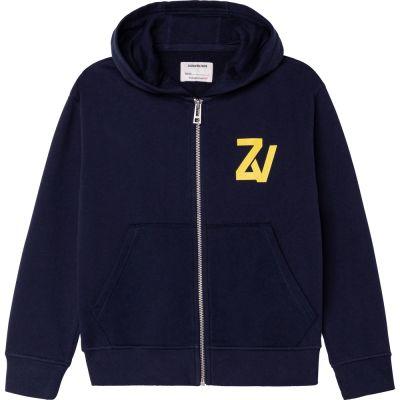Sweatshirt Hank Dark Blue by Zadig & Voltaire-6Y