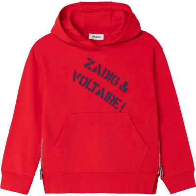 Hoodie Alvin Red by Zadig & Voltaire-6Y