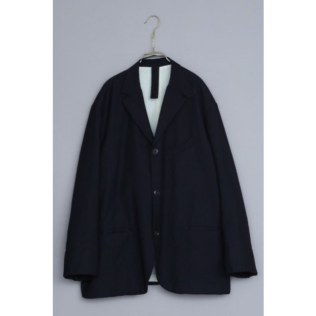 Wool Jacket Edouard Dark Navy by Ecole de Curiosites