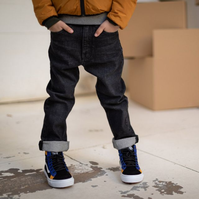 Jeans Ollibis Black Denim by Finger in the Nose