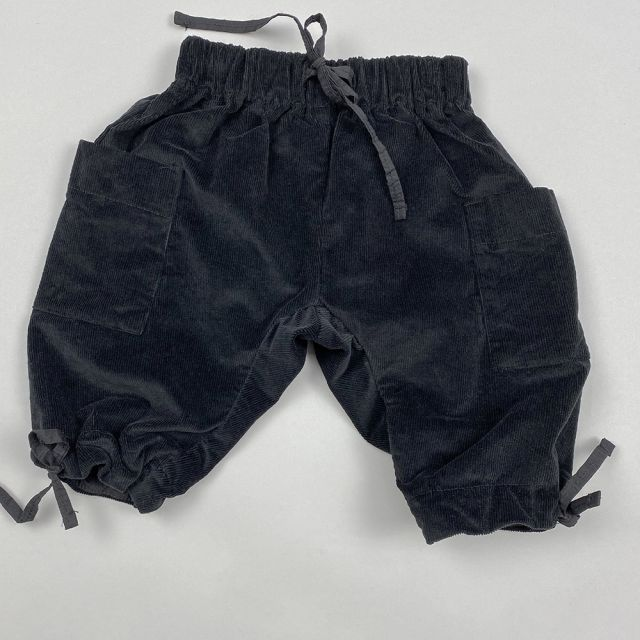 Ribbed Velvet Baby Trousers Horace by Album di Famiglia