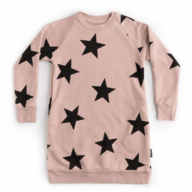 Star A Dress Powder Pink by Nununu