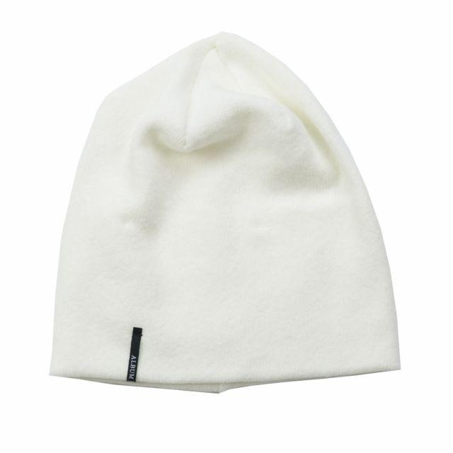 Soft Jersey Baby Hat Milk by Album di Famiglia