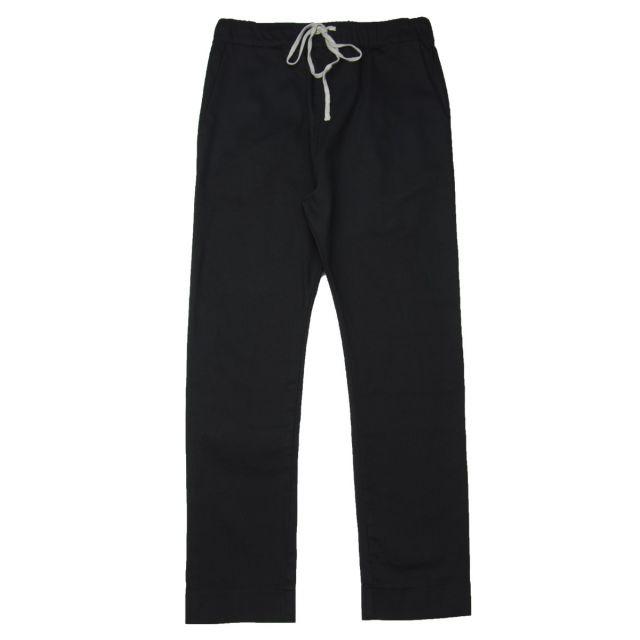 Gabardine Stretch Basic Trousers by Album di Famiglia