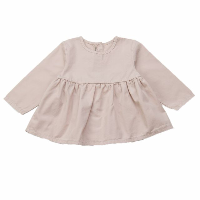 Basic Baby Blouse Rose by Babe & Tess