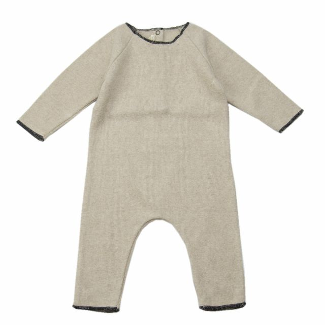 Soft Jersey Baby Overall Natural by Babe & Tess