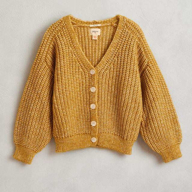 Knitted Cardigan Abyre Girasole by Bellerose