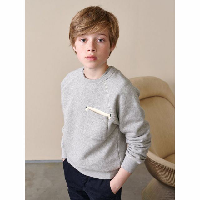 Sweatshirt Fiuk Heather Grey by Bellerose
