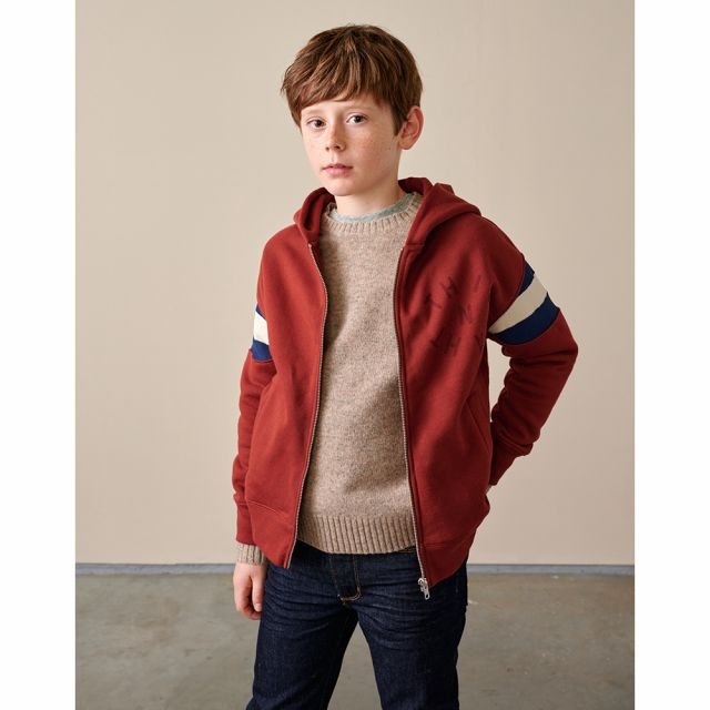 Hooded Sweatshirt Franc Redwood by Bellerose