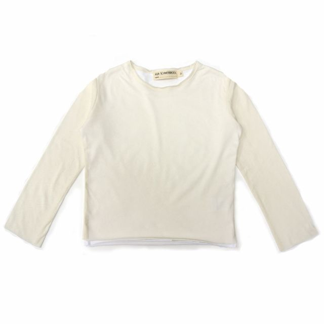 T-Shirt Beni Ivory/White by Anja Schwerbrock