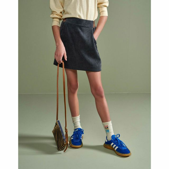 Soft Corduroy Skirt Arch Plomb by Bellerose