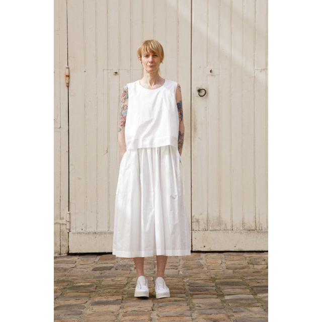 Dress Danielle White by Ecole de Curiosites