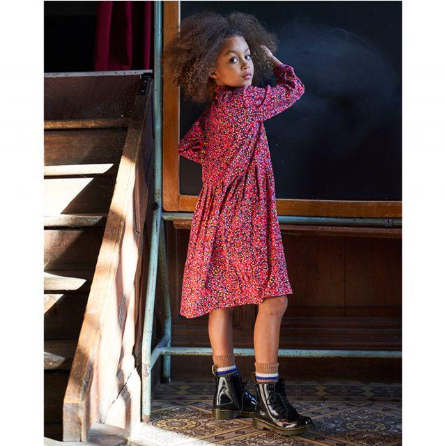 Dress Stella Scarlet with Flower Print by Maan