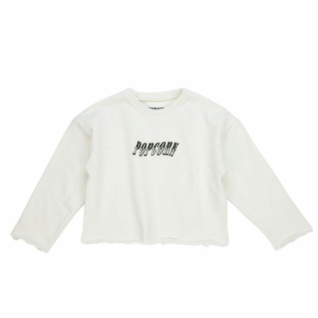 Cropped Sweatshirt Contorsionista Ecru by Touriste