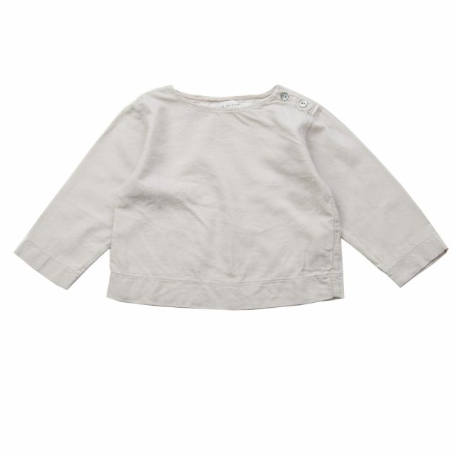 Soft Canvas Baby Shirt Marius Nude by Album di Famiglia