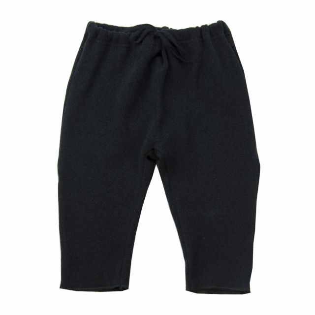 Soft Jersey Baby Pants Nico Almost Black by Album di Famiglia