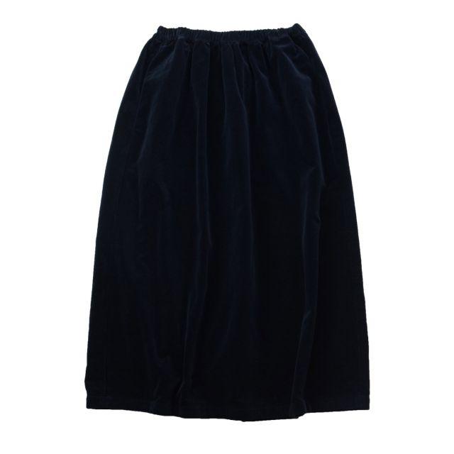 Velvet Skirt Duca by Manuelle Guibal