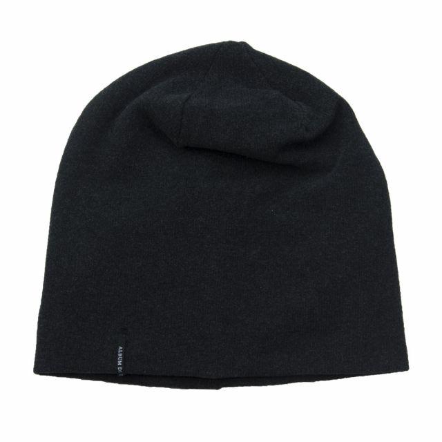 Soft Jersey Hat Almost Black by Album di Famiglia