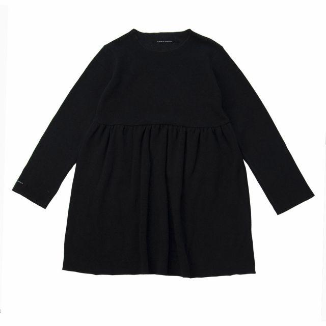 Soft Jersey Dress Norry Almost Black by Album di Famiglia