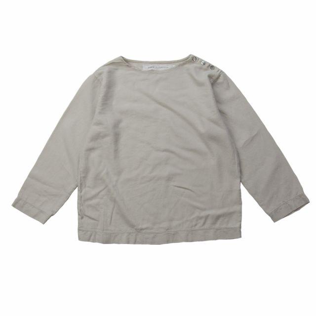 Soft Canvas Shirt Marius Nude by Album di Famiglia