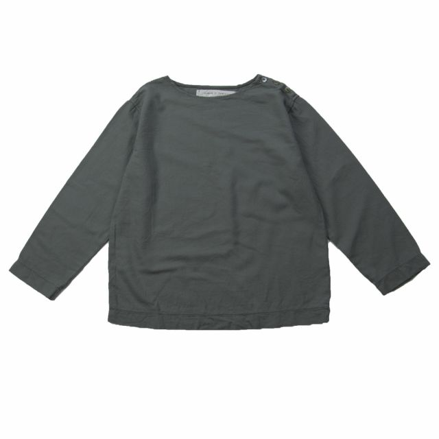 Soft Canvas Shirt Marius Grey by Album di Famiglia
