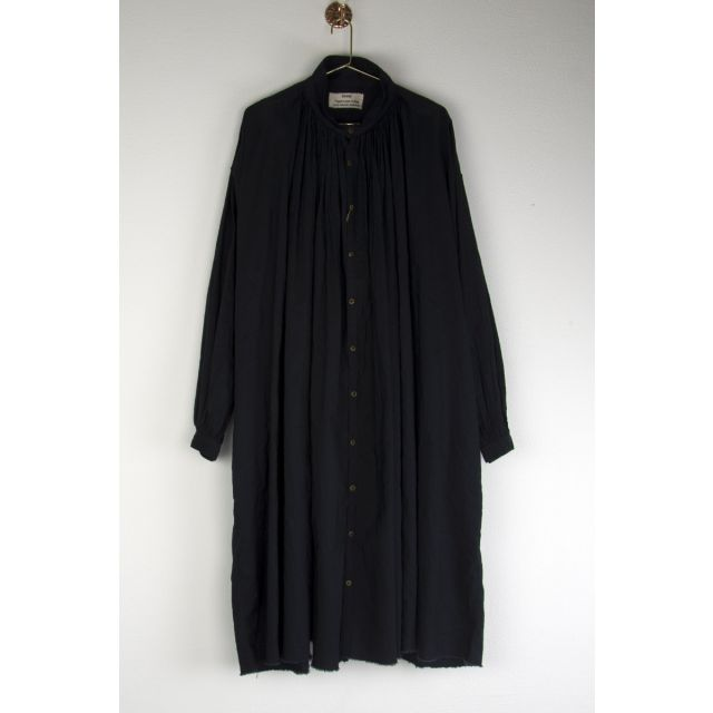 Oversized Shirt Dress Dark Navy by Kaval