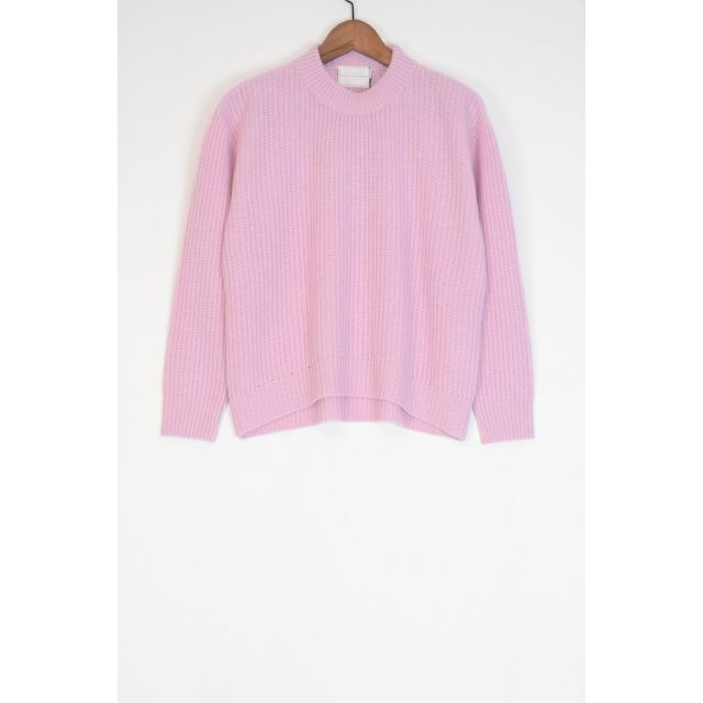 Wool and Cashmere Sweater Kate Lilac Pink by Ecole de Curiosites