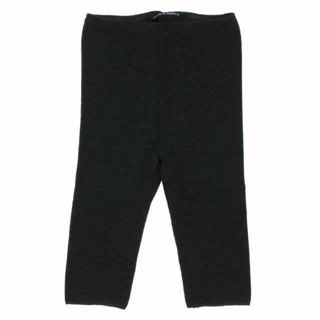 Soft Jersey Baby Leggings Franci Almost Black by Album di Famiglia